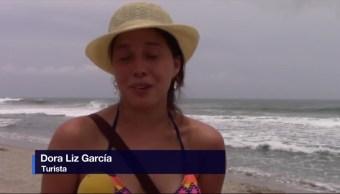 Vacacionistas, Playas De Oaxaca, Primer Fin De Semana Vacacional, Puerto Escondido
