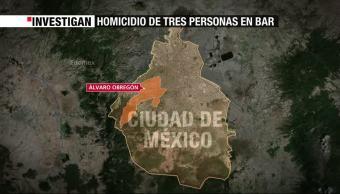 Delegación Alvaro Obregon, Mueren Tres Personas, Baleadas, Procuraduria De La Ciudad De Mexico