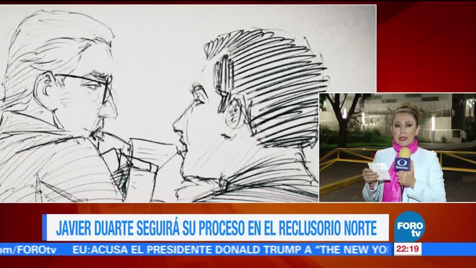 Duarte, Pasara Segunda noche Reclusorio Norte Ciudad de Mexico