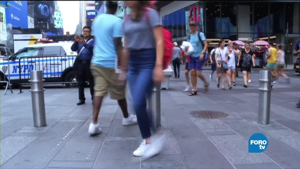 Autoridades de NY, medidas de seguridad, vehículos fuera de control, peatones