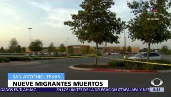 México, lamenta muerte, connacionales, tráiler descubierto, Texas