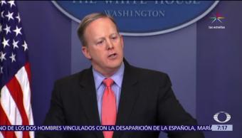 Sean Spicer, renuncia, vocería de la Casa Blanca, Sarah Huckabee
