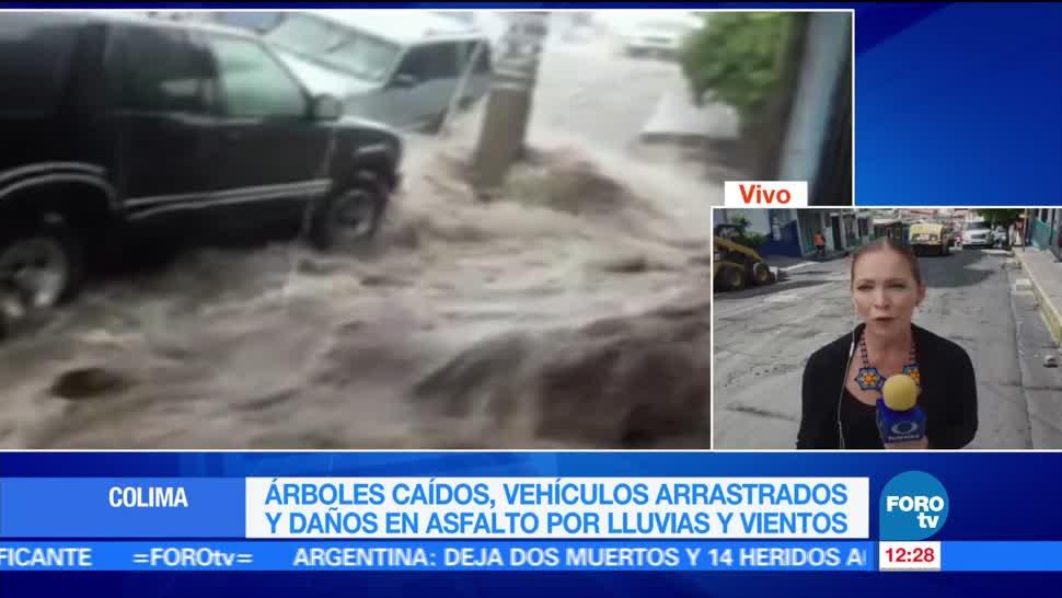 Autoridades De Colima Carpeta Asfáltica Quesería Municipio De Cuauhtémoc