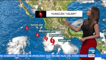 Clima Mayte Carranco Huracan Fuertes Lluvia Hilary