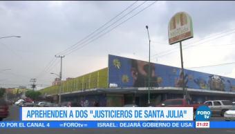 Noticias Detienen Justicieros Santa Julia Forotv