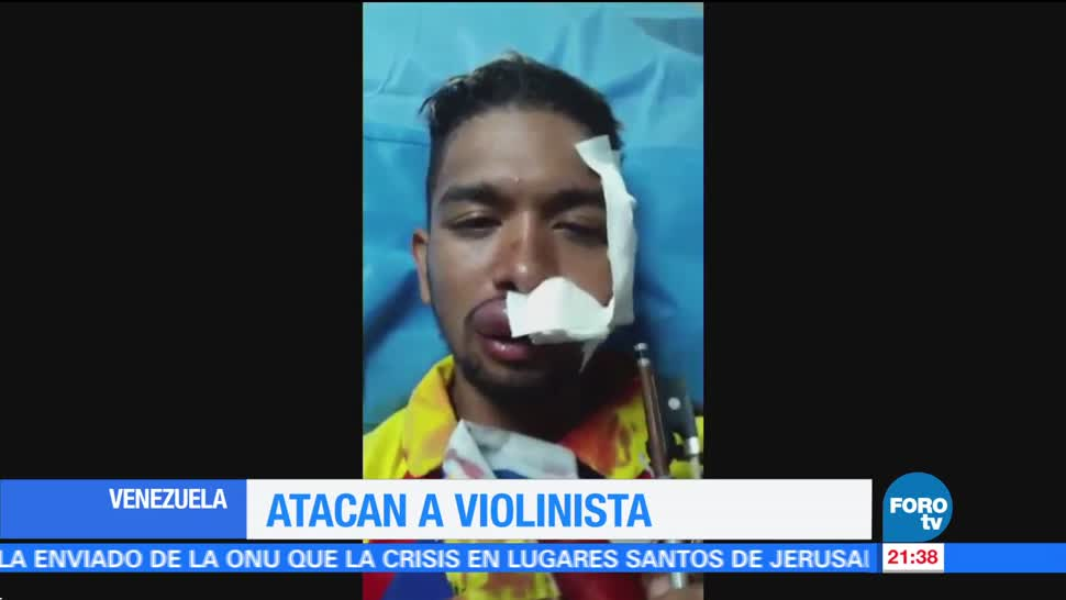 Atacan Violinista Opositor Venezuela Noticias Forotv
