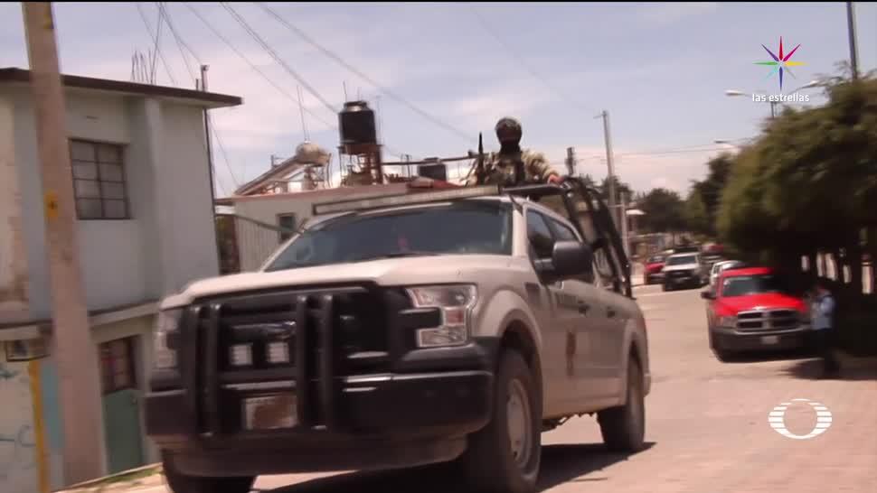 Noticias Televisa Enfrentamiento Puebla Bukanans Marina