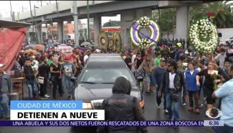 Entierran, Felipe de Jesús Pérez Lunas, El Ojos, Tláhuac