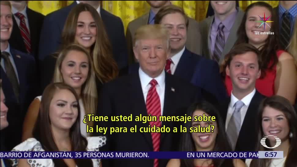Trump Reportera Catherine Lucey Guarde Silencio