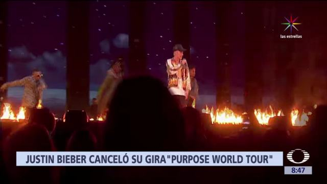 Justin Bieber Cancela Conciertos Purpose World Tour
