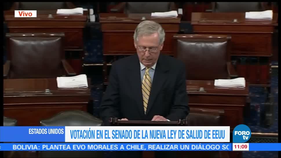 Votación, Senado, ley, salud
