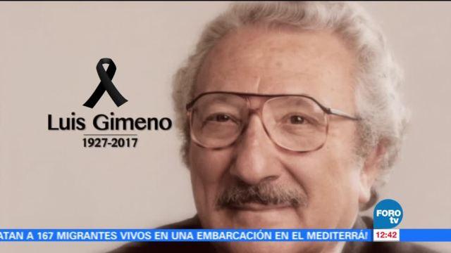 Luto, artístico, muerte, Luis Gimeno
