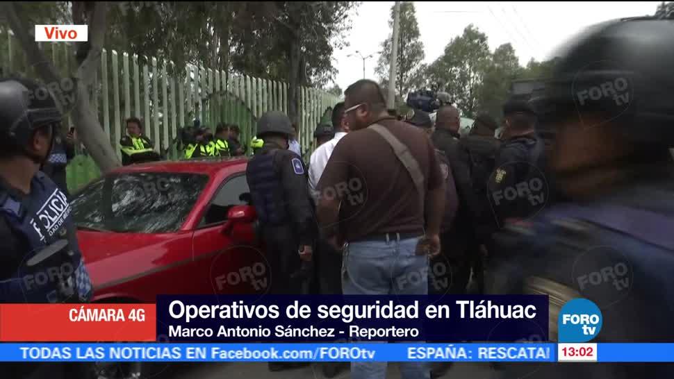 Tras Darse Fuga Detienen Tlahuac Policia Capitalina