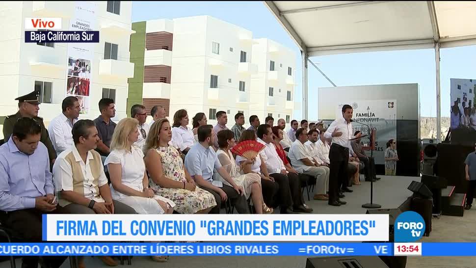 Epn Presenta Beneficios Presidente Enrique Peña Nieto Baja California Sur
