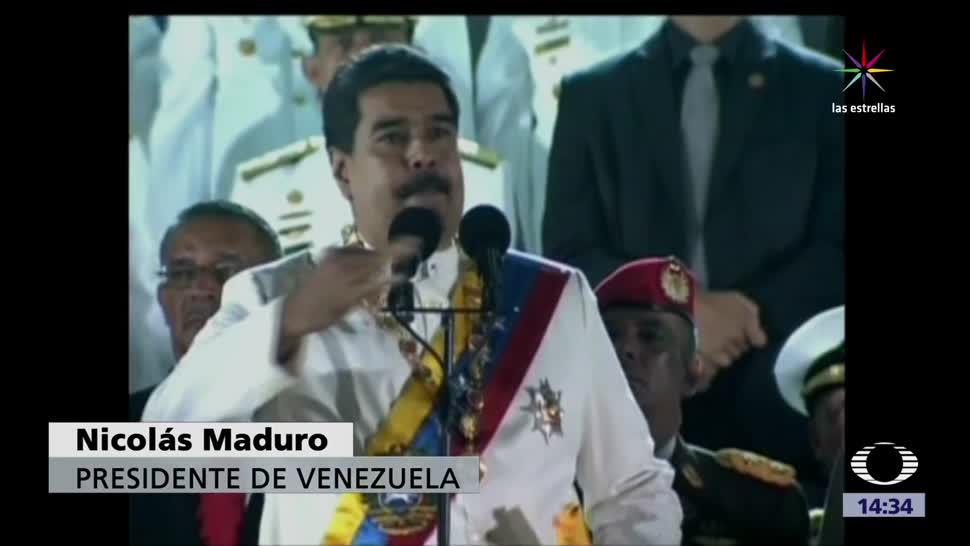 Presidente Venezuela Nicolas Maduro Acusa A Mexico Colombia Plan De La Cia