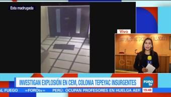 Investigan Explosión Cem Cdmx Conferencia Del Episcopado Mexicano Explosion De Un Artefacto