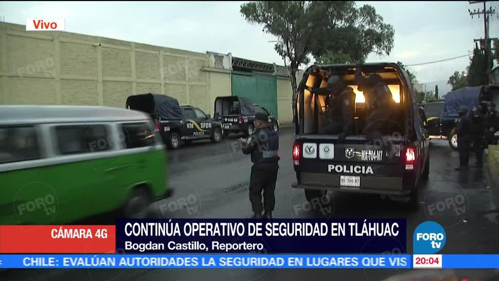 Televisa News Cuatro Detenidos Operativo Tlahuac