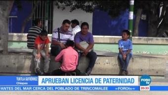 Televisa News Aprueban Licencias Paternidad Chiapas