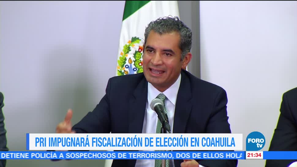 PRI Impugnara Fiscalizacion Coahuila Enrique Ochoa