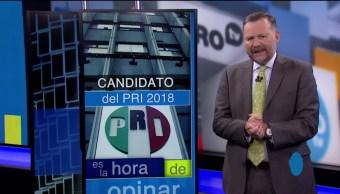 Leo Zuckermann Candidato PRI Rumbo 2018