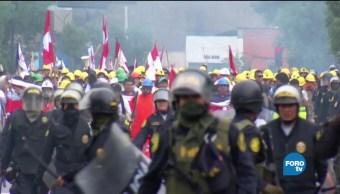 Global Noticias Movilizaciones Laborales Peru Kuckynski
