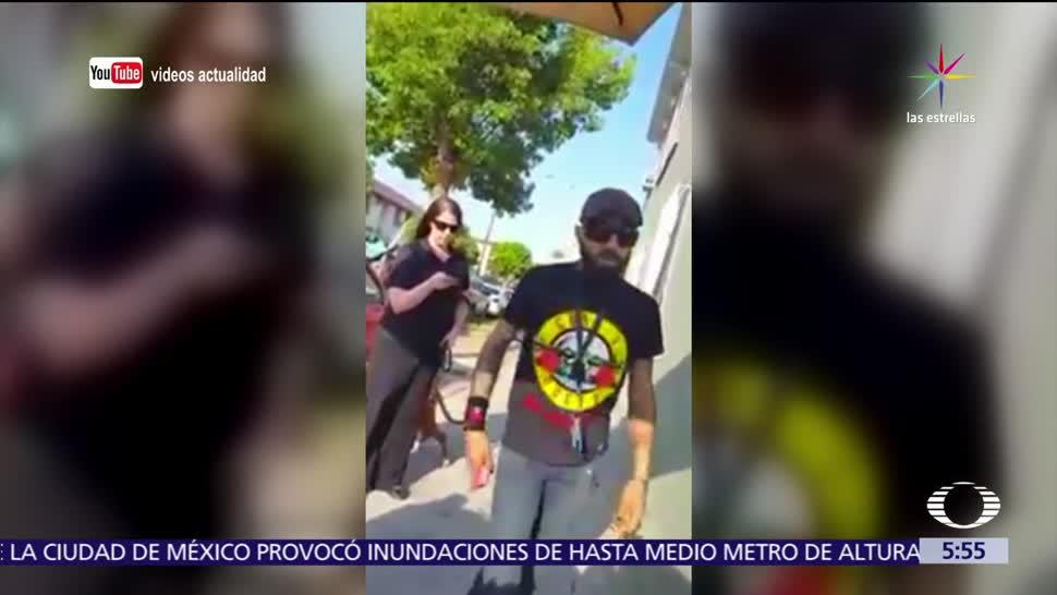 Argentino, agrede, migrante, mexicano