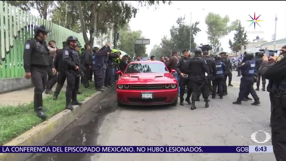 Aseguran, auto, dinero, Tláhuac