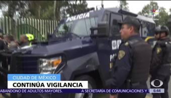 Policía, CDMX, cerco, Tláhuac