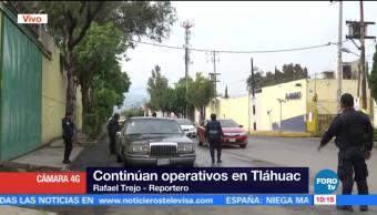 Continúan Operativos Seguridad Tláhuac