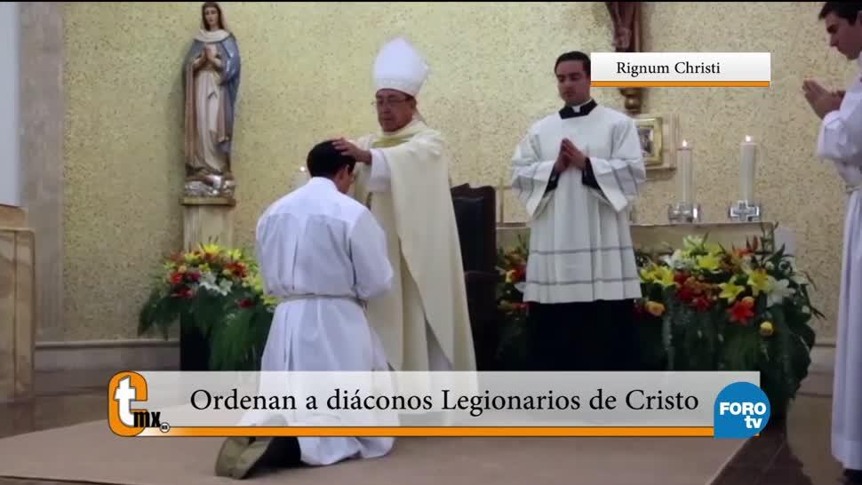 Ordenan, diáconos, Legendarios, Cristo