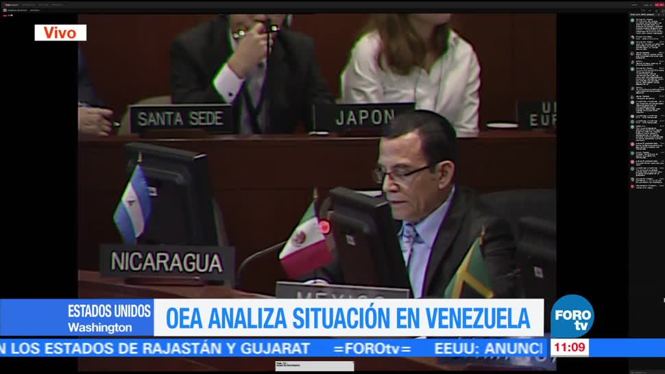 OEA, analiza, situación, Venezuela