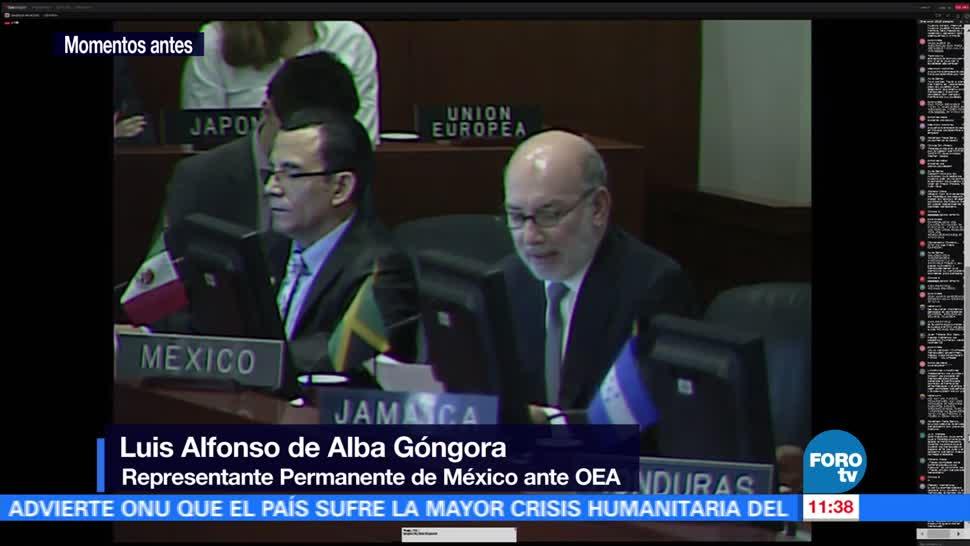 Consejo, OEA, situación, Venezuela