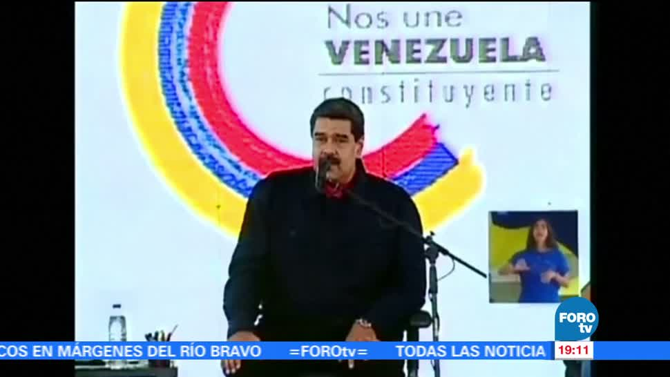 Nicolás Maduro Asegura Paro Cívico Venezuela