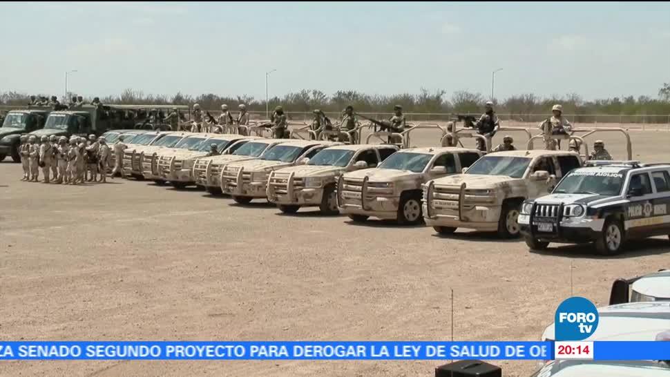 Operativos Policía Federal Reducen Delitos Sonora