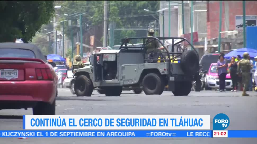Continúa Operativos Seguridad Tláhuac Conchita CDMX
