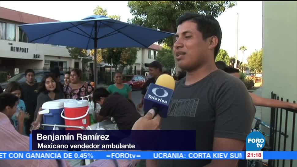 Indignación Agresión Vendedor Los Ángeles Video