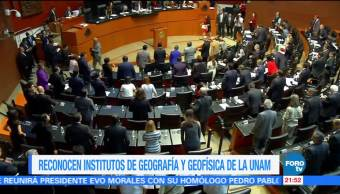 Institutos Geografía Geofísica UNAM Congreso Unesco