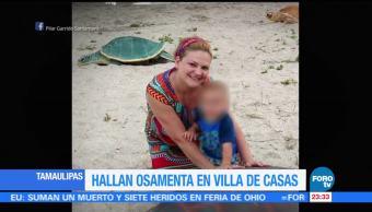 Osamenta Hallada Tamaulipas Española Pilar Garrido