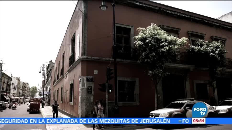 Recorrido, casas, Leona Vicario, Antonio López