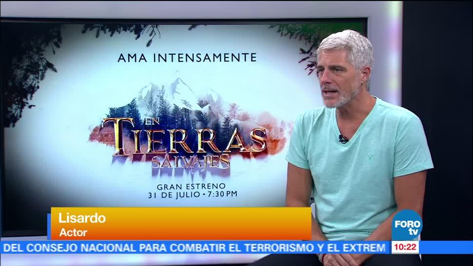 Lizardo Habla Telenovela Tierras Salvajes