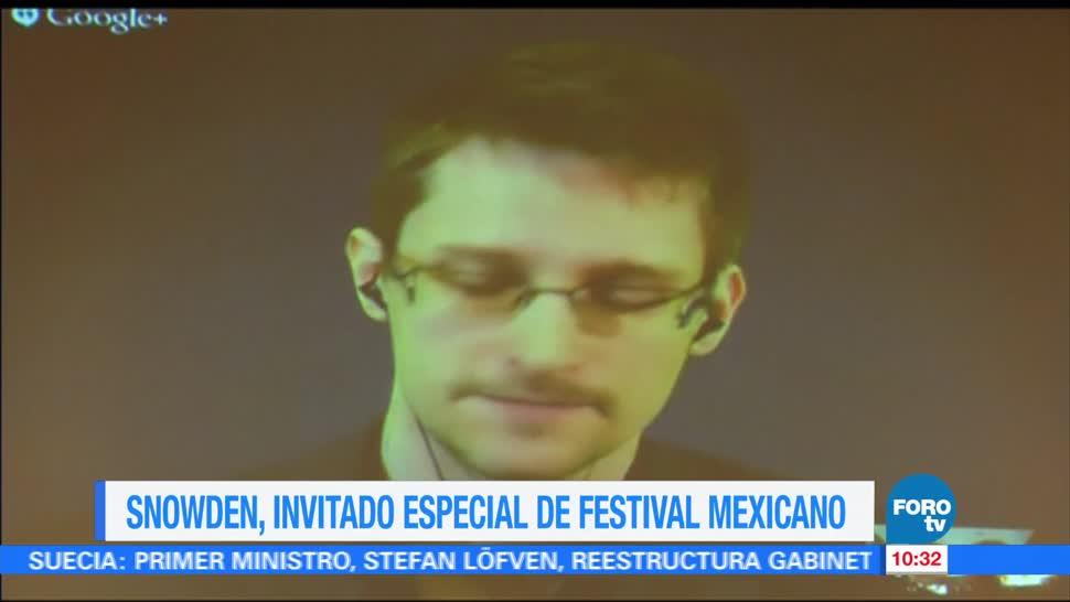Snowden, invitado especial, festival, arte