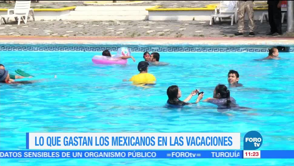 Cuánto, gastan, mexicanos, vacaciones