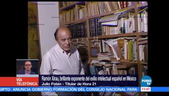 Ramón Xirau Extraordinario Maestro Julio Patán