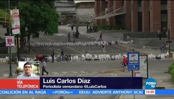 Televisa News Gobierno Venezuela Finge Normalidad