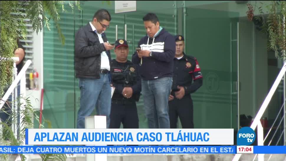 Televisa News Aplazan Audiencia Bloqueos Tlahuac
