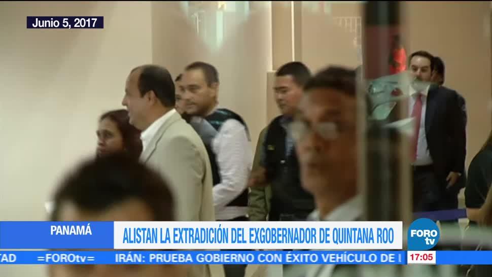 Televisa News Panama Extradicion Roberto Borge