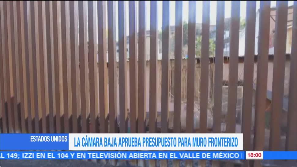 Televisa Camara Representantes Aprueba Muro Trump