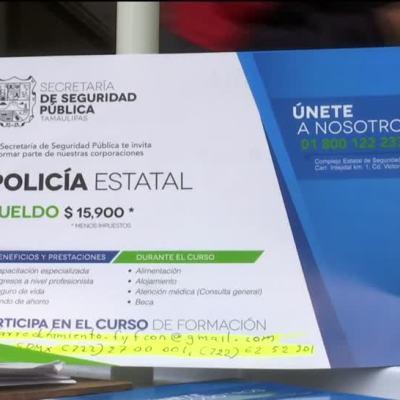 Tamaulipas busca policías