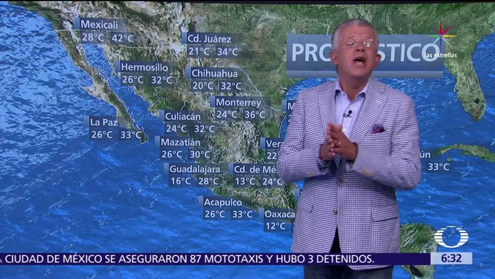 Televisa News Despierta Tiempo Calor Norte