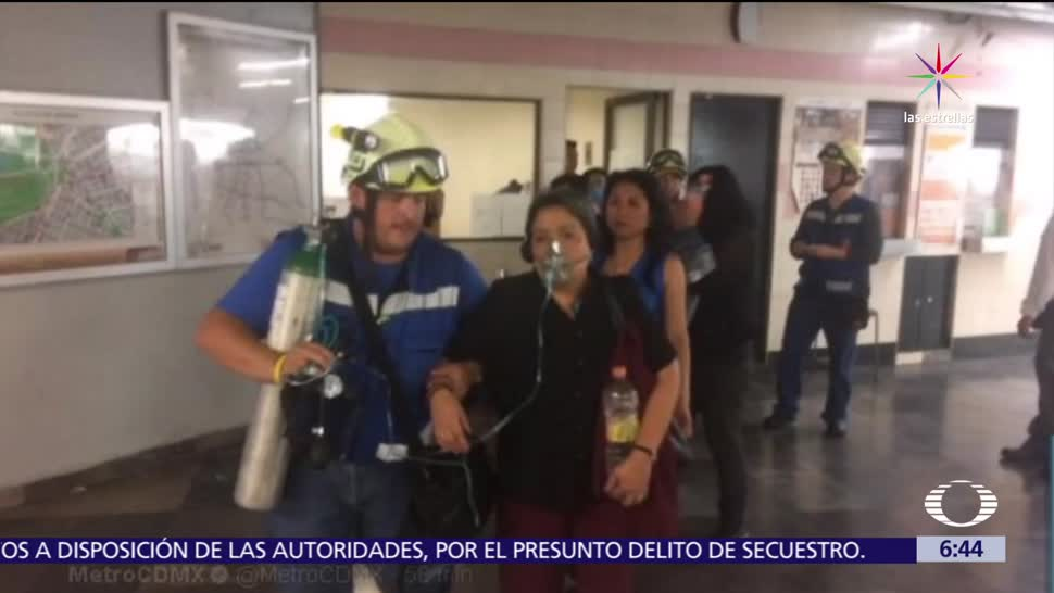 Televisa News Falla Eléctrica Metro CDMX